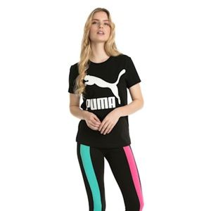 NWT Puma classic logo tee t-shirt. Size Medium.